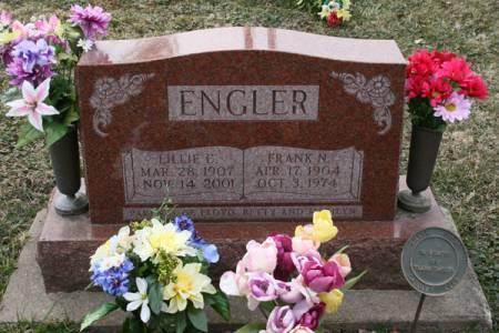 ENGLER, LILLIE C. - Scott County, Iowa | LILLIE C. ENGLER