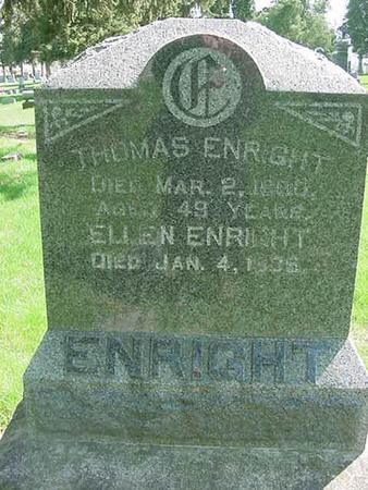 ENRIGHT, THOMAS - Scott County, Iowa | THOMAS ENRIGHT