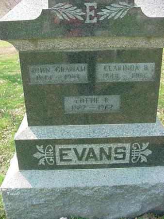 EVANS, LOTTIE - Scott County, Iowa | LOTTIE EVANS