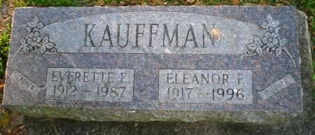 KAUFFMAN, EVERETTE E. - Scott County, Iowa | EVERETTE E. KAUFFMAN