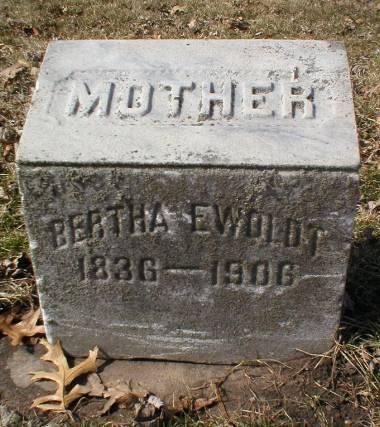 EWOLDT, BERTHA - Scott County, Iowa | BERTHA EWOLDT