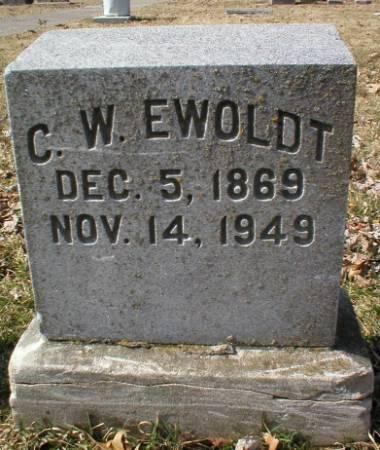 EWOLDT, C. W. - Scott County, Iowa | C. W. EWOLDT