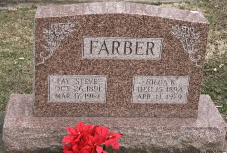 FARBER, HILDA K. - Scott County, Iowa   HILDA K. FARBER