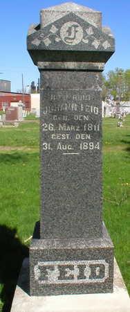FEID, JOHANN - Scott County, Iowa | JOHANN FEID