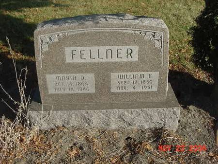 FELLNER, WILLIAM F - Scott County, Iowa | WILLIAM F FELLNER
