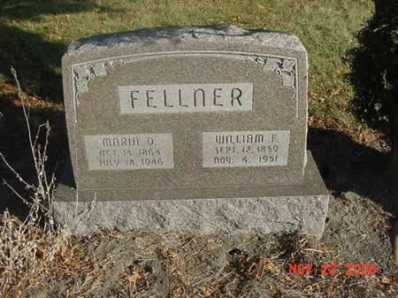 FELLNER, MARIA D - Scott County, Iowa | MARIA D FELLNER