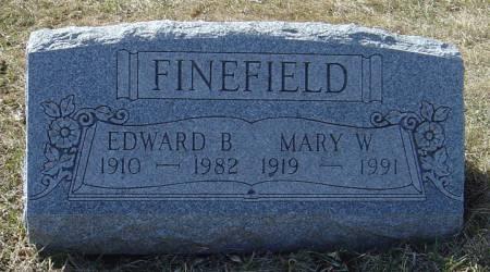 FINEFIELD, MARY W. - Scott County, Iowa | MARY W. FINEFIELD