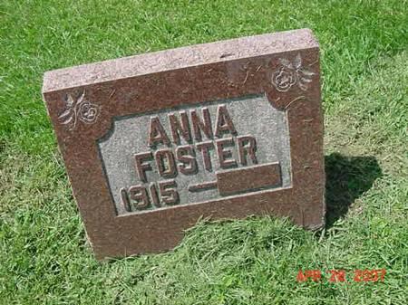 FOSTER, ANNA - Scott County, Iowa | ANNA FOSTER