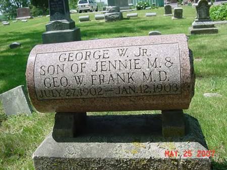 FRANK, GEORGE W JR - Scott County, Iowa | GEORGE W JR FRANK
