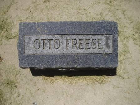 FREESE, OTTO - Scott County, Iowa   OTTO FREESE