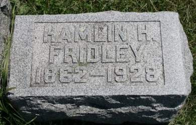 FRIDLEY, HAMLIN H. - Scott County, Iowa | HAMLIN H. FRIDLEY