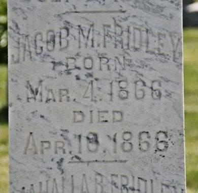 FRIDLEY, JACOB M. - Scott County, Iowa | JACOB M. FRIDLEY