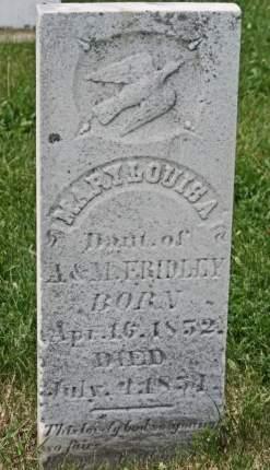 FRIDLEY, MARY LOUISA - Scott County, Iowa | MARY LOUISA FRIDLEY