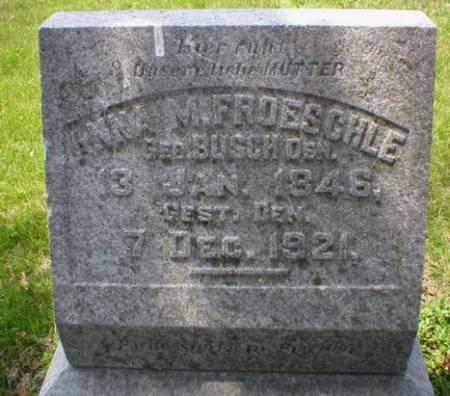 BUSCH FROESCHLE, ANNA - Scott County, Iowa | ANNA BUSCH FROESCHLE