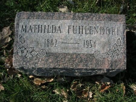 FUHLENDORF, MATHILDA - Scott County, Iowa | MATHILDA FUHLENDORF