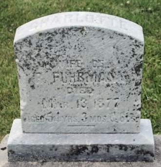 FUHRMANN, CHARLOTTE - Scott County, Iowa | CHARLOTTE FUHRMANN