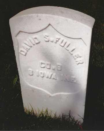FULLER, DAVID S. - Scott County, Iowa   DAVID S. FULLER