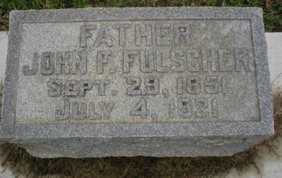 FULSCHER, JOHN F. - Scott County, Iowa   JOHN F. FULSCHER
