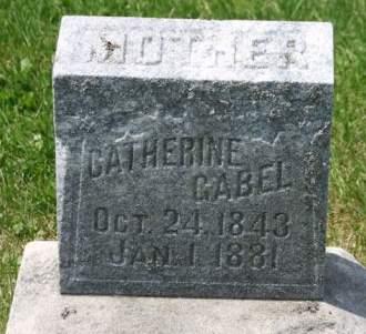 GABEL, CATHERINE - Scott County, Iowa | CATHERINE GABEL