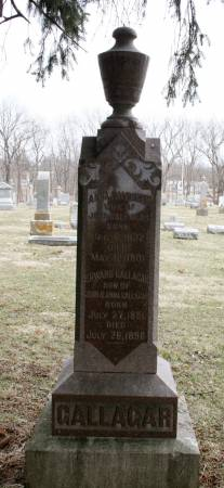 GALLAGAR, ANNA - Scott County, Iowa | ANNA GALLAGAR