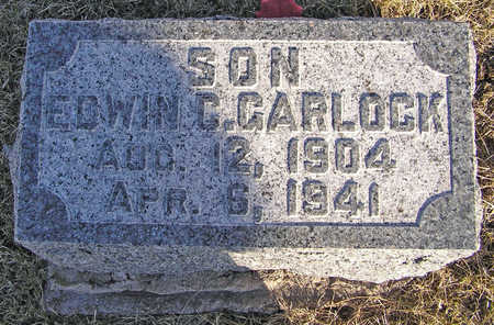 GARLOCK, EDWIN C. - Scott County, Iowa | EDWIN C. GARLOCK