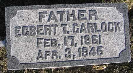 GARLOCK, EGBERT T. - Scott County, Iowa | EGBERT T. GARLOCK