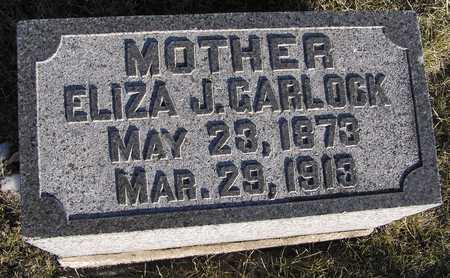 THOMAS GARLOCK, ELIZA J. - Scott County, Iowa | ELIZA J. THOMAS GARLOCK