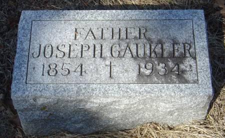 GAUKLER, JOSEPH - Scott County, Iowa | JOSEPH GAUKLER