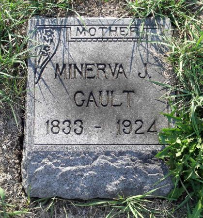 STEEL GAULT, MINERVA JANE - Scott County, Iowa | MINERVA JANE STEEL GAULT