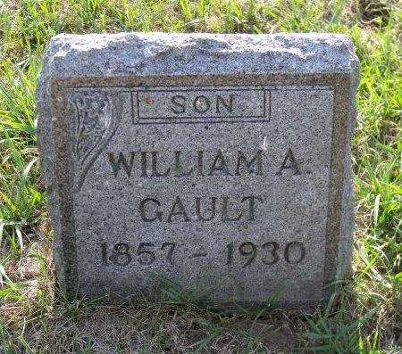 GAULT, WILLIAM A. - Scott County, Iowa   WILLIAM A. GAULT