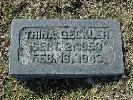 GECKLER, TRINA - Scott County, Iowa | TRINA GECKLER
