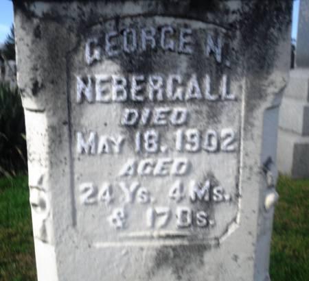 NEBERGALL, GEORGE N. - Scott County, Iowa | GEORGE N. NEBERGALL