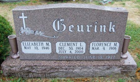GEURINK, CLEMENT L. - Scott County, Iowa   CLEMENT L. GEURINK