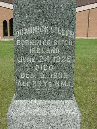 GILLEN, DOMINICK - Scott County, Iowa | DOMINICK GILLEN