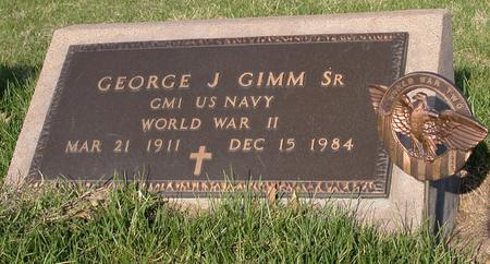 GIMM, GEORGE JAMES SR. - Scott County, Iowa | GEORGE JAMES SR. GIMM