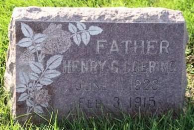 GOERING, HENRY G. - Scott County, Iowa | HENRY G. GOERING