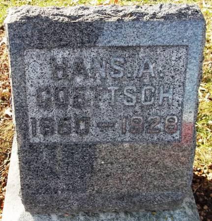GOETTSCH, HANS A. - Scott County, Iowa | HANS A. GOETTSCH