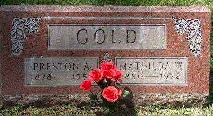 GOLD, PRESTON A. - Scott County, Iowa | PRESTON A. GOLD