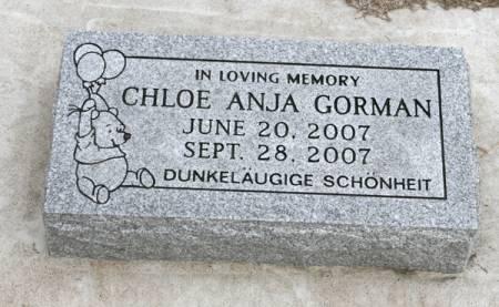 GORMAN, CHLOE ANJA - Scott County, Iowa | CHLOE ANJA GORMAN