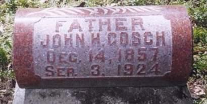 GOSCH, JOHN H. - Scott County, Iowa | JOHN H. GOSCH