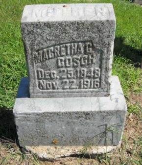 GOSCH, MAGRETHA  G. - Scott County, Iowa | MAGRETHA  G. GOSCH