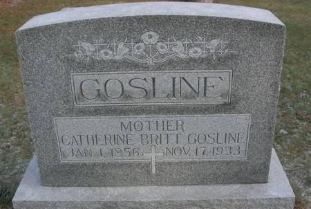 GOSLINE, CATHERINE - Scott County, Iowa | CATHERINE GOSLINE