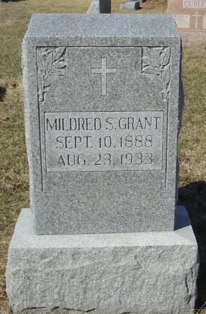 GRANT, MILDRED S. - Scott County, Iowa | MILDRED S. GRANT