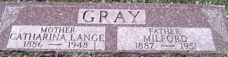GRAY, CATHARINA - Scott County, Iowa | CATHARINA GRAY
