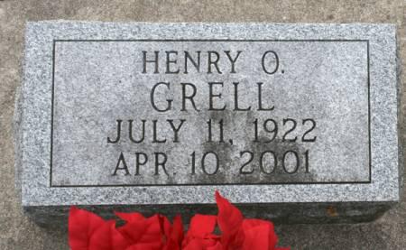 GRELL, HENRY O. - Scott County, Iowa   HENRY O. GRELL