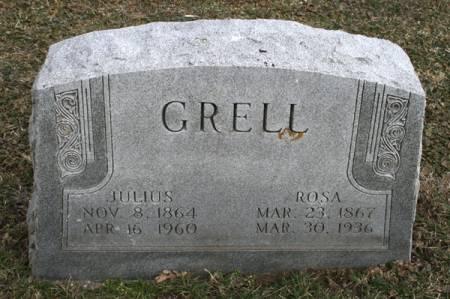 GRELL, ROSA - Scott County, Iowa | ROSA GRELL