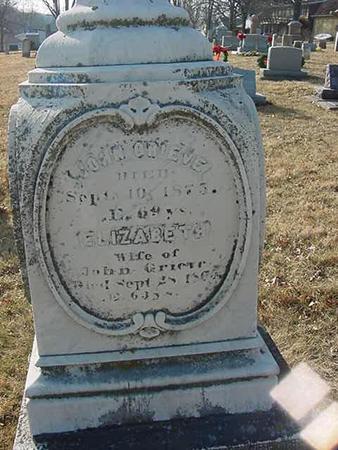 GRIEVE, ELIZABETH - Scott County, Iowa | ELIZABETH GRIEVE