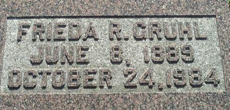 GRUHL, FRIEDA R. - Scott County, Iowa | FRIEDA R. GRUHL