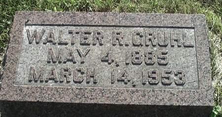 GRUHL, WALTER R. - Scott County, Iowa | WALTER R. GRUHL