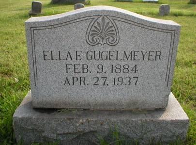 GUGELMEYER, ELLA F. - Scott County, Iowa | ELLA F. GUGELMEYER